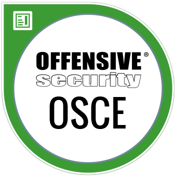 Offensive Security Certified Expert (OSCE)